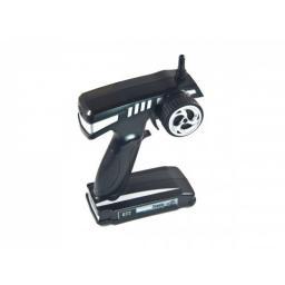 GT2 2,4 GHz Fernsteuerung Pistolengriff 2-Kanal inkl. 3-Kanal Empfänger Monstertronic