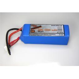 Powerbar LiPo 3300mAh 22,2V 50C; Max. 100 C