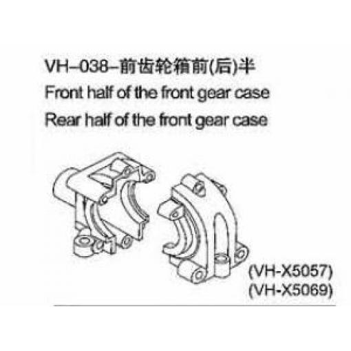 VH36 - Vordere Getriebebox Abdeckung