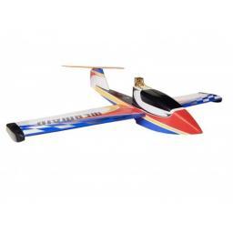 arkai Mermaid Wasserflugzeug Schneerutscher - 1200 mm Spannweite - Rot / Blau