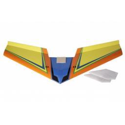 arkai Flying Wing 120 cm - Elektro-Segelflugmodell - Nurflügler - Gelb / Orange