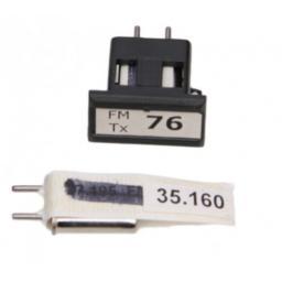 35 MHz Quarzpaar - Kanal 76 oder 78