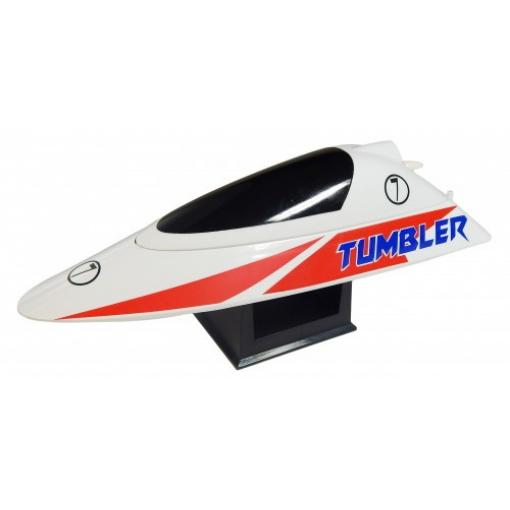 Tumbler RTR - bis zu 25 km/h - 2,4 GHz - Speedboot - Rot