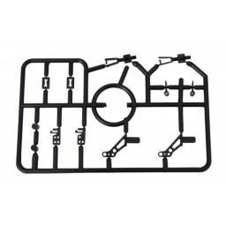 Befestigungsset - 12 Teile - speziell für Microflieger