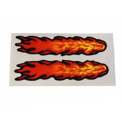 Decal Flames Small 80 x 40mm 2 Stk.