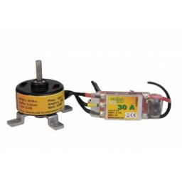 Brushless Motorset 3508 810 KV und 30 A Regler RC Flieger Multikopter