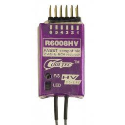 Empfänger 2,4 GHz FASST 6CH Futaba und Robbe kompatibel