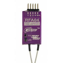 Empfänger 2,4 GHz FASST 5-Kanal Futaba und Robbe kompatibel RFA04