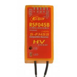Empfänger 2.4 GHz S-FHSS 4-Kanal S.BUS Futaba-kompatibel RSF04SB
