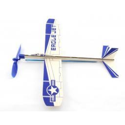 Fight Jet Gummimotormodell Saalflieger Indoor Flugzeug