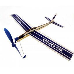 Sky Captain Gummimotormodell Saalflieger Indoor Flugzeug