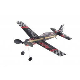Air Show Gummimotormodell Saalflieger Indoor Flugzeug