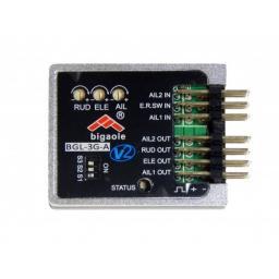 Bigaole 3-Achs Kreisel Flächengyro im Alugehäuse Plug & Play BGL-3G-A V2