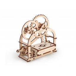 Holzschatulle mechanisch zum Stecken