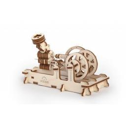 Druckluftmotor Holz mechanisch zum Stecken ohne Klebstoff