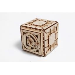 Holztresor mechanisch zum Stecken ohne Klebstoff voll funktional
