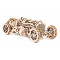 Grand Prix Car Holz mechanisch zum Stecken ohne Klebstoff