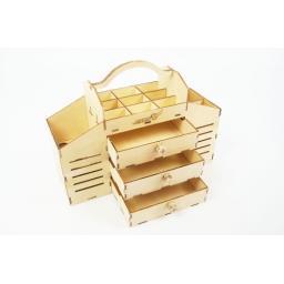 Werkzeugbox aus Sperrholz zum Zusammenbauen