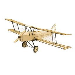 Micro Tiger Moth Holzbox Balsa Kit