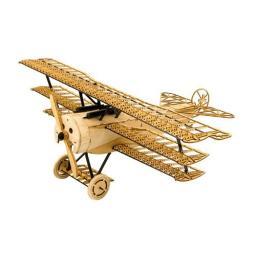 arkai Micro Fokker DR1 - Balsa KIT Dreidecker