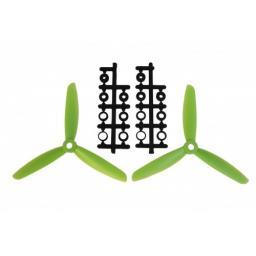 5x3 Dreiblatt Prop für Quad/Multicopter - Grün - verbesserte Version effizienter als Gemfan