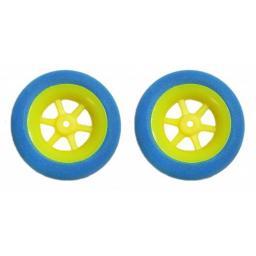 2 Stk. SUPERLEICHTreifen 40 mm Durchmesser für Radnaben bis 2,5 mm