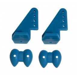Ruderhorn-Set 20 x 27 blau - 1 Paar