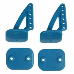Ruderhorn-Set 20 x 27 blau Lightversion - 1 Paar