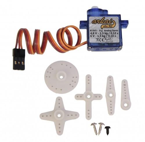 Micro Servo mit JR Stecker 9g