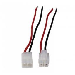 TAMIYA Stecker und Buchse mit Kabel AWG20 14 cm 1 Paar