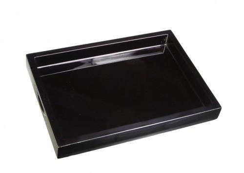 LAQ Design – Tablett für Kekse - 12-fach Pianolack - Eigene Manufaktur - geeignet für Standardkeksverpackungen von Bahlsen, Lambertz