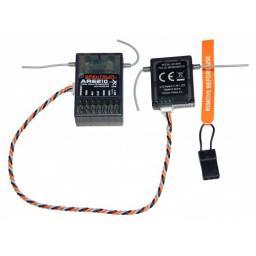 Spektrum Empfänger AR6210 + Satellit DSM2/DSMX