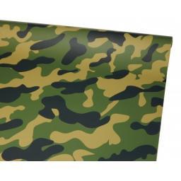 Bügelfolie Camouflage 1 Meter
