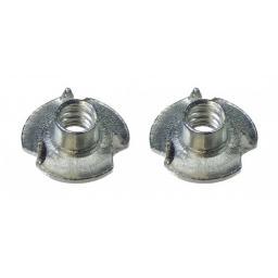 Einschlagmutter 3 mm f. M3 Schrauben 1 Paar