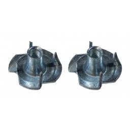 Einschlagmutter 4 mm f. M4 Schrauben 1 Paar
