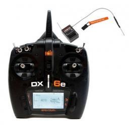 Spektrum DX6e 6-Kanal Fernsteuerung mit AR610 Empfänger - SPM6650EU