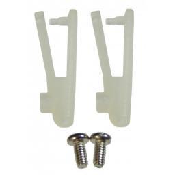 2 Stk. Nylon Gabelkopf 1 x 2 x 20 mm MIT EXTRAschraube